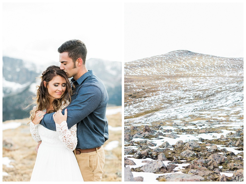 Rocky Mountain National Park Engagement Session