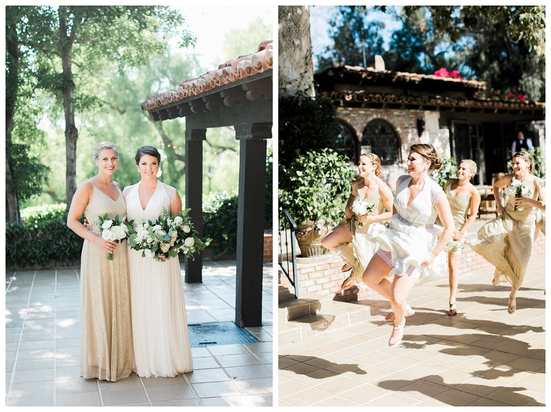 champaign bridesmaid dresses LA wedding venue
