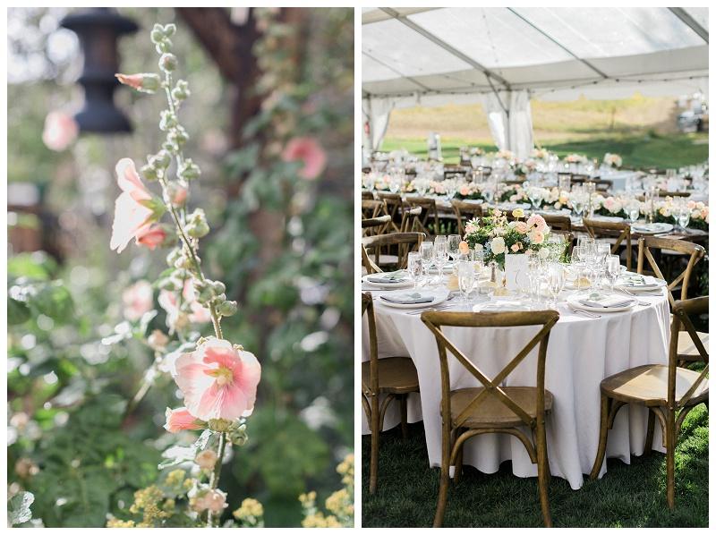 reception details Ritz-Carlton, Bachelor Gulch wedding summer outdoors al fresco colorado