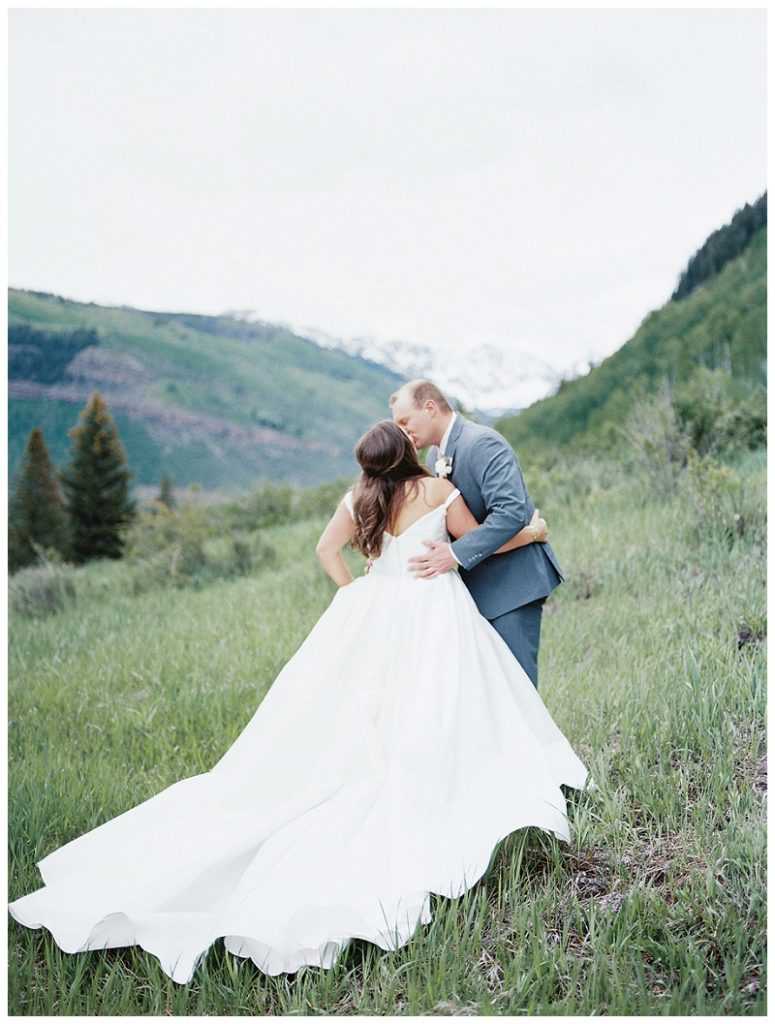 wedding day pictures with the gore range