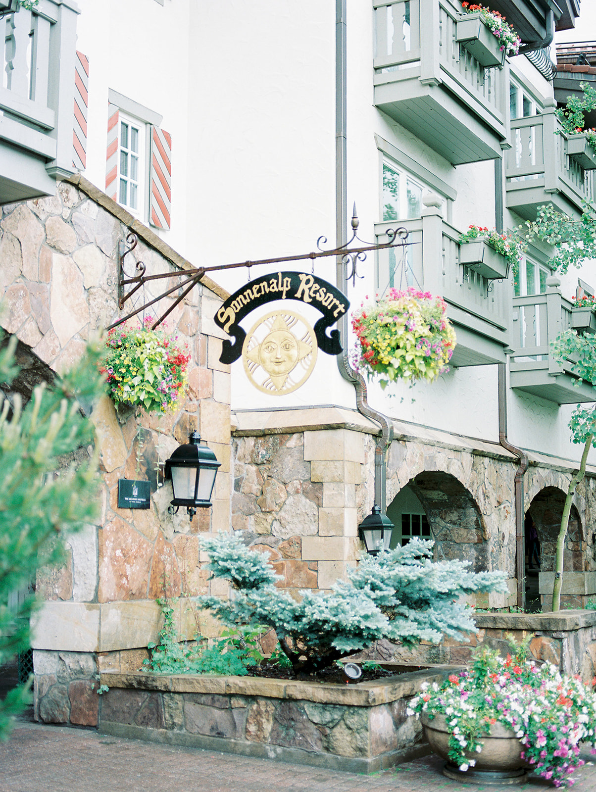 Sonnenalp Vail Colorado Wedding Venue